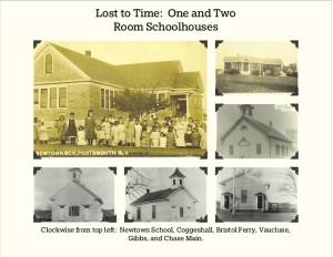 Some of the Portsmouth one room schools Lost to Time.