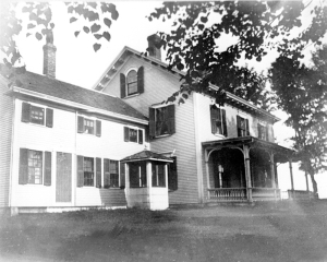 Leonard Brown House in 1920